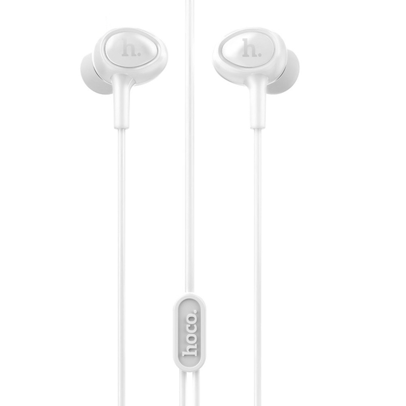 Casti In-Ear Cu Microfon Hoco M3 - Alb
