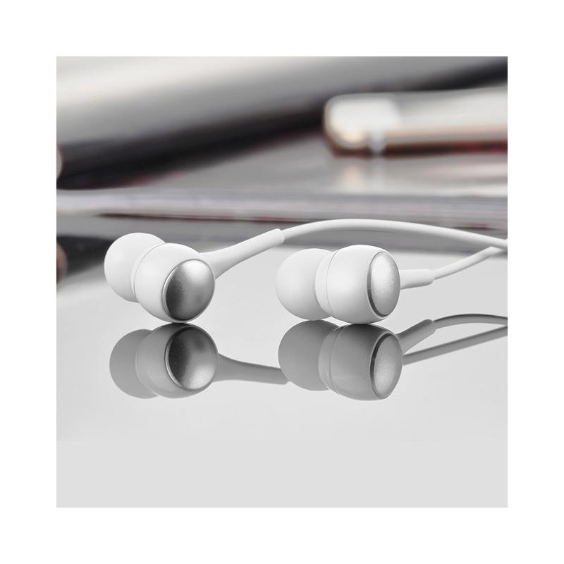 Casti In-Ear Cu Microfon Hoco M19 Drumbeat - Alb