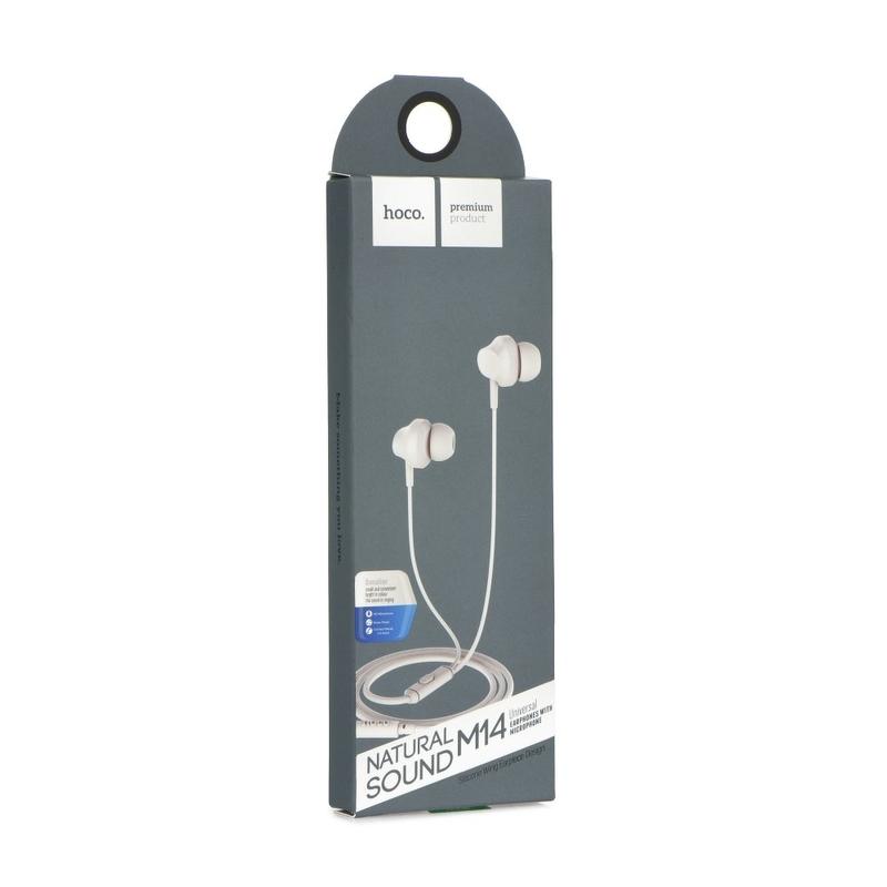 Casti In-Ear Cu Microfon Hoco M14 - Negru