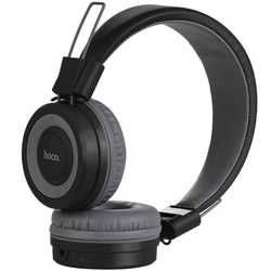 Casti On-Ear Hoco W16 Cu Bluetooth Si Microfon - Gri