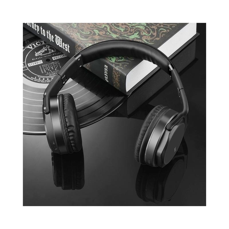 Casti On-Ear Bluetooth Cu Microfon Hoco W11 - Negru