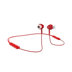 Casti In-Ear Bluetooth Cu Microfon Hoco ES18 - Red