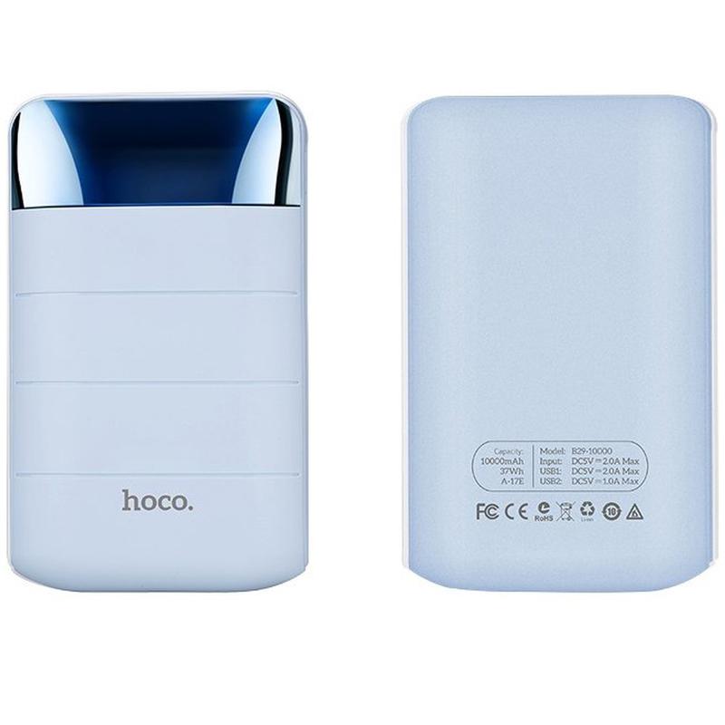Acumulator extern 10000 mAh Hoco B29 2xUSB - Albastru