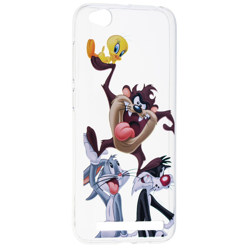 Husa Xiaomi Redmi 5A Cu Licenta Looney Tunes - Taz and Friends