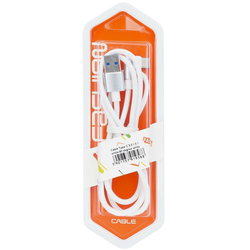 Cablu de date PT 30 Type-C-USB 3.0 1M 2.4A Alb