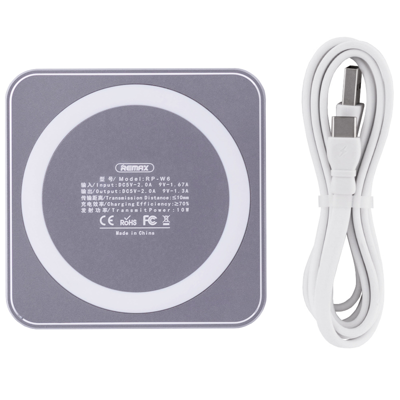 Incarcator Wireless Remax RP-W6 - Grey