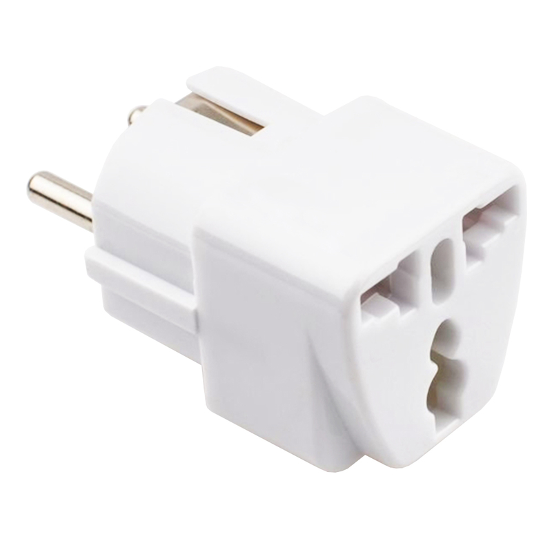 Adaptor Priza Blow AC220V EU-UK - Alb
