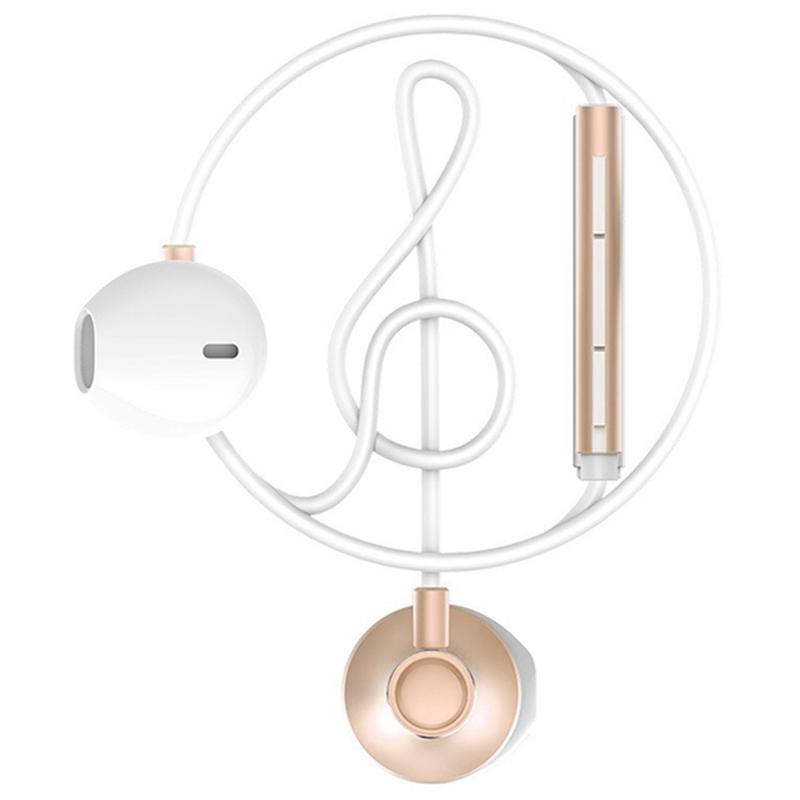Casti In-Ear Cu Microfon WK-Design WE300 - Auriu