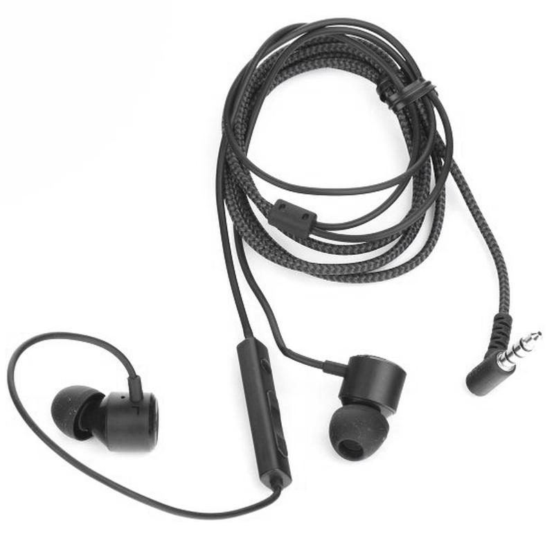 Handsfree LG EAB63728261 G6 3.5 mm Black Bulk