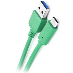 Cablu de date cu lungimea de 2M USB 3.0 -USB-C - Verde
