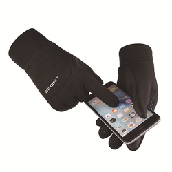 Manusi Touchscreen Marimea L Mobster Sport - Black