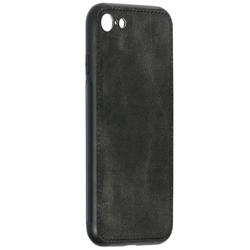 Husa iPhone 7 Denim Cover - Negru