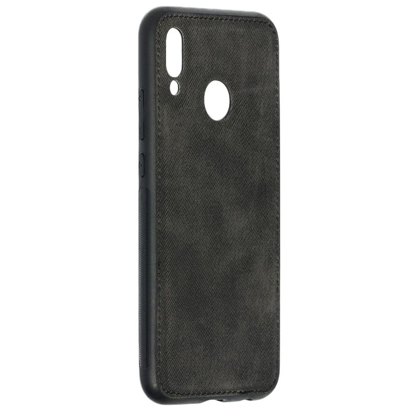 Husa Huawei P20 Lite Denim Cover - Negru