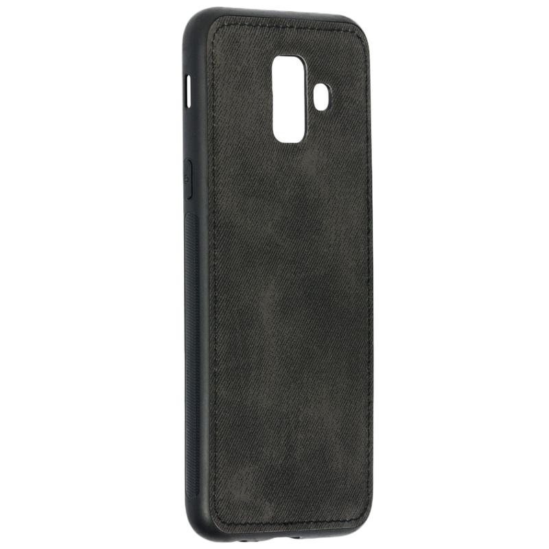 Husa Samsung Galaxy A6 2018 Denim Cover - Negru