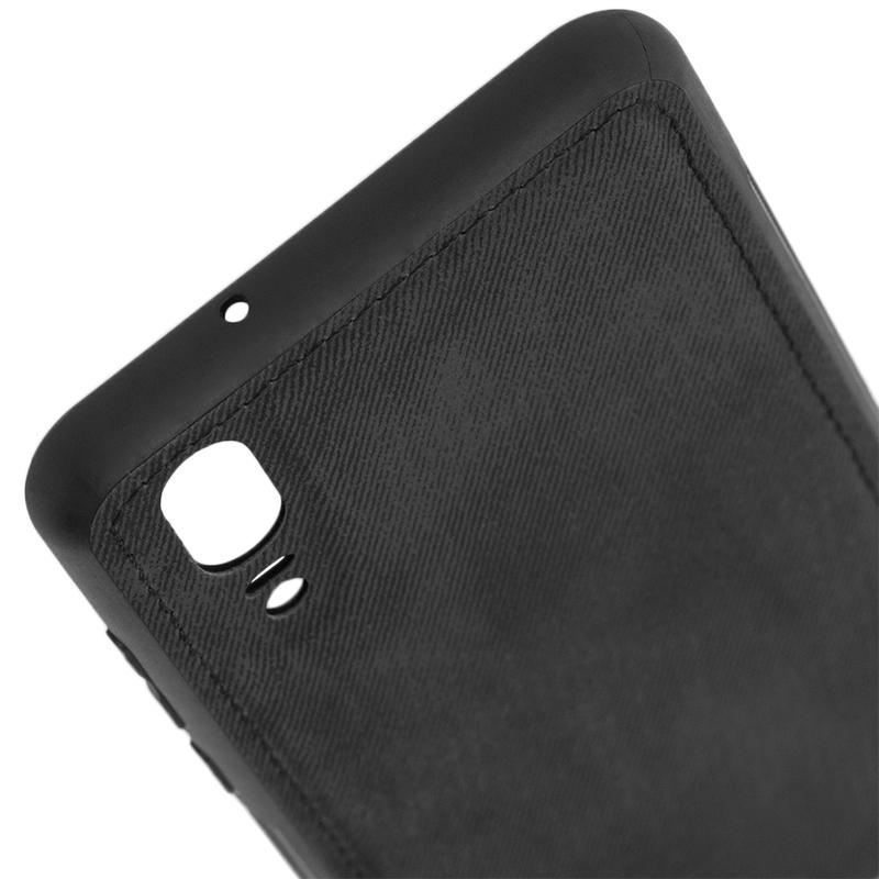 Husa Huawei P20 Denim Cover - Negru