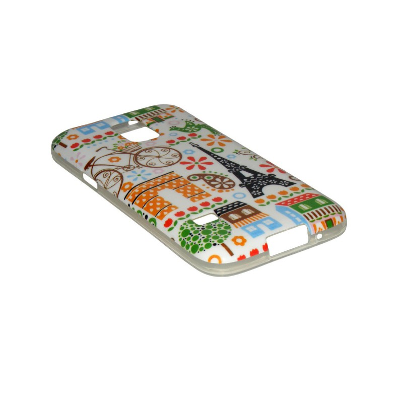 Husa Samsung Galaxy S5 Mini G800 Silicon Gel TPU Model IC44
