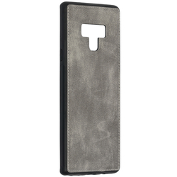 Husa Samsung Galaxy Note 9 Denim Cover - Gri