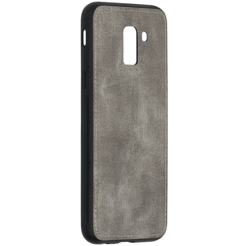 Husa Samsung Galaxy J6 2018 Denim Cover - Gri