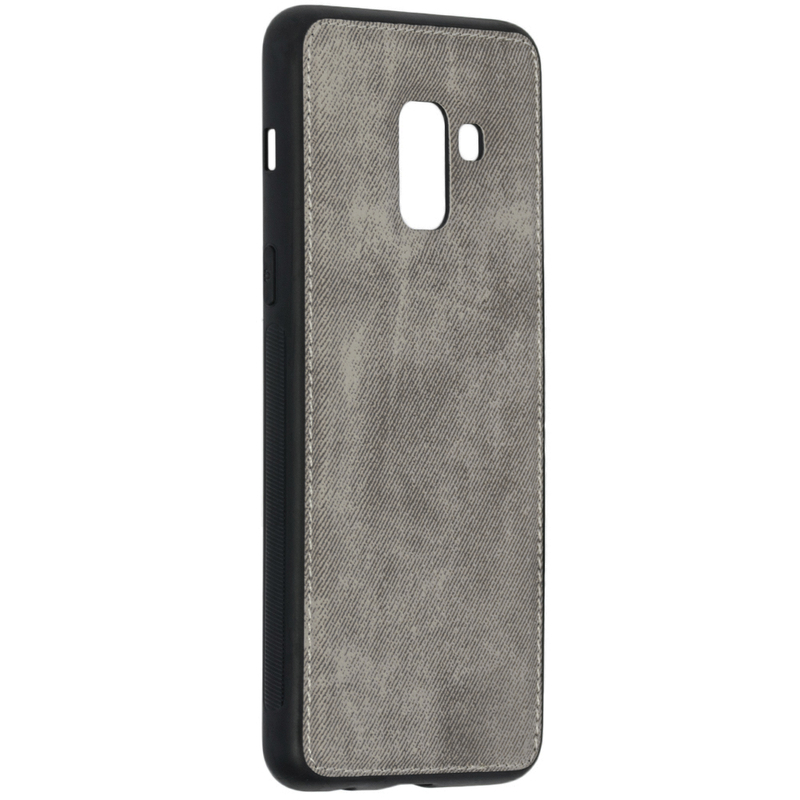 Husa Samsung Galaxy A8 2018 A530 Denim Cover - Gri