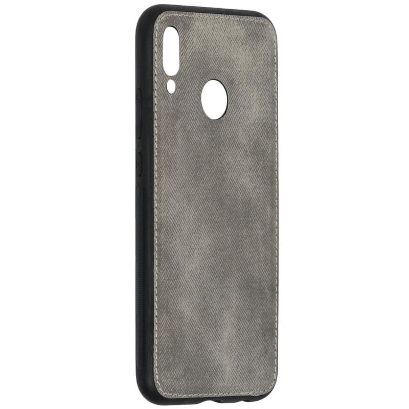 Husa Huawei P20 Lite Denim Cover - Gri