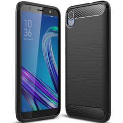 Husa Asus Zenfone Live L1 ZA550KL TPU Carbon Negru