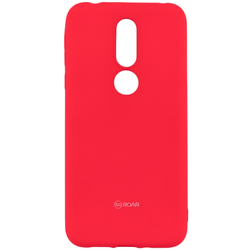 Husa Nokia 7.1 Roar Colorful Jelly Case - Roz Mat