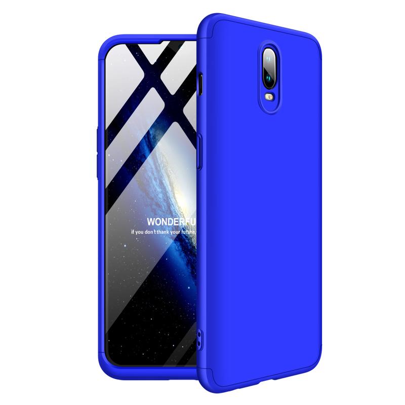 Husa OnePlus 6T GKK 360 Full Cover Albastru