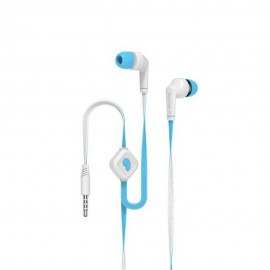 Handsfree In-Ear Blue Star JD88 Jack 3.5mm - Alb-Bleu