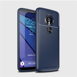Husa Motorola One Mobster Carbon Skin Albastru