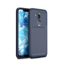 Husa Nokia 7.1 Mobster Carbon Skin Albastru
