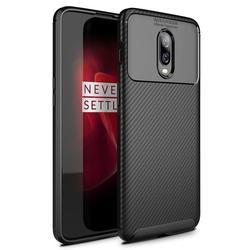 Husa OnePlus 6T Mobster Carbon Skin Negru