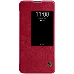 Husa Huawei Mate 20 X Flip Nillkin QIN Rosu