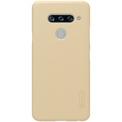 Husa LG V40 ThinQ Nillkin Frosted Gold