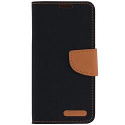 Husa Samsung Galaxy S6 G920 Canvas Book Negru