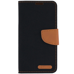 Husa Samsung Galaxy S7 Canvas Book Negru