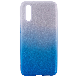 Husa Samsung Galaxy S10 Plus Gradient Color TPU Sclipici - Albastru