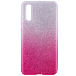 Husa Samsung Galaxy S10 Plus Gradient Color TPU Sclipici - Roz