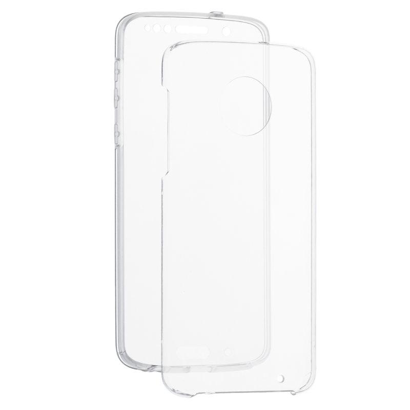 Husa Motorola Moto G6 Plus FullCover 360 - Transparent