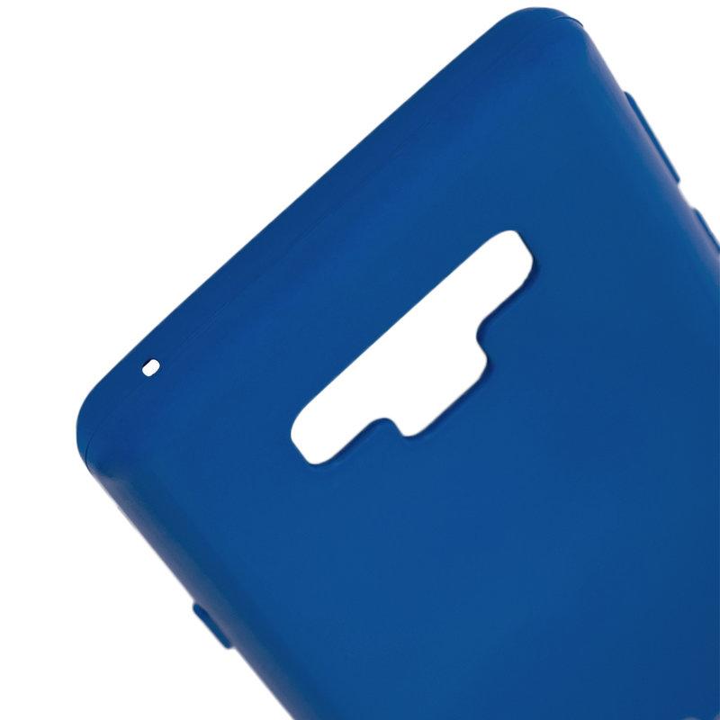 Husa Samsung Galaxy Note 9 Goospery Jelly TPU Albastru