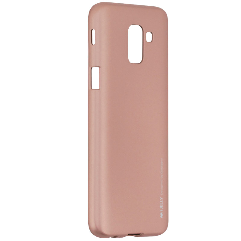 Husa Samsung Galaxy J6 2018 Mercury i-Jelly TPU - Rose Gold
