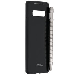 Husa Samsung Galaxy S10 Glass Series - Negru