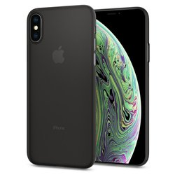 Bumper iPhone XS Spigen AirSkin -  Black