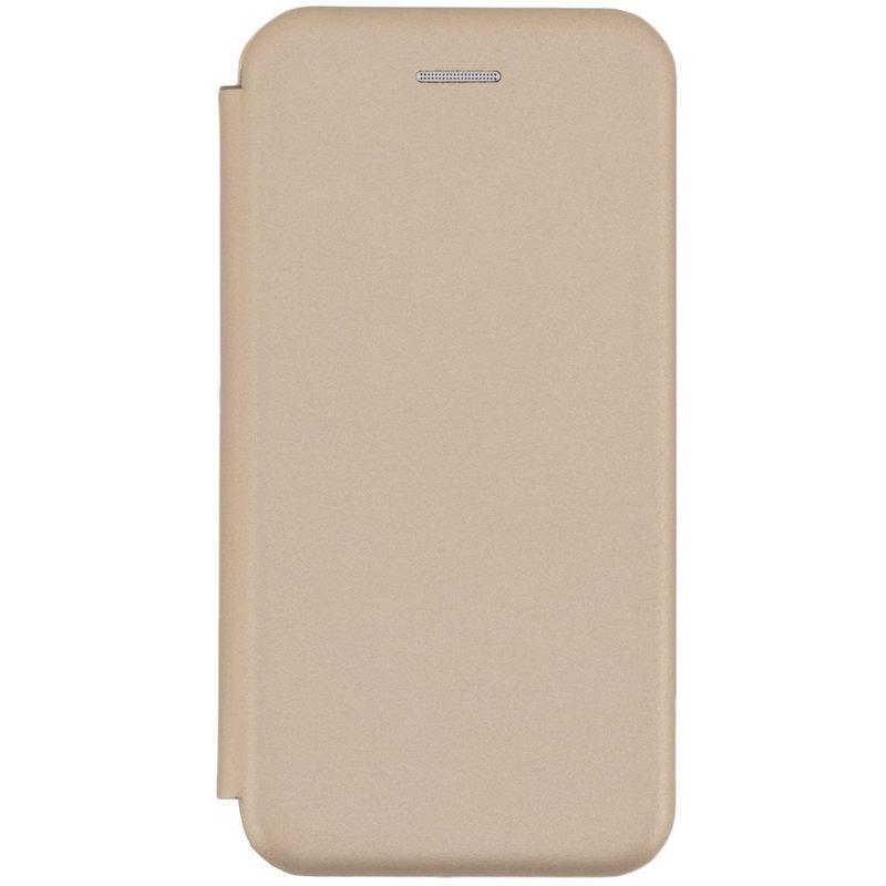 Husa iPhone 6 / 6S Flip Magnet Book Type - Gold