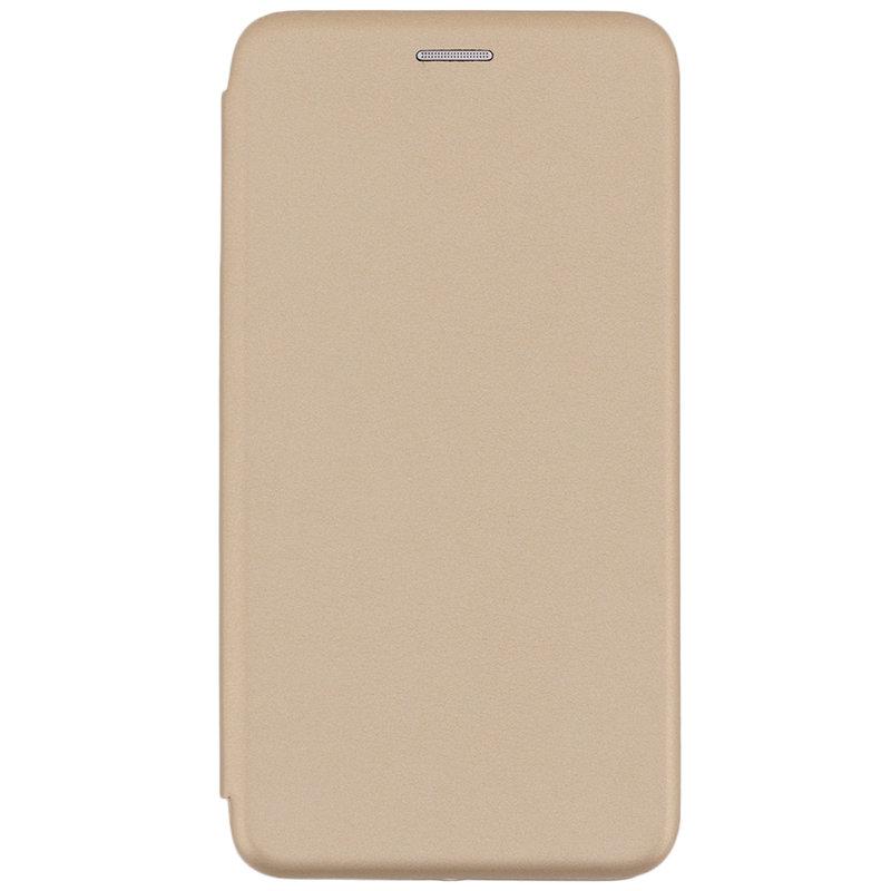Husa Nokia 7 Plus Flip Magnet Book Type - Gold