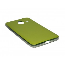 Husa Microsoft Lumia 640 XL Jelly Leather - Verde