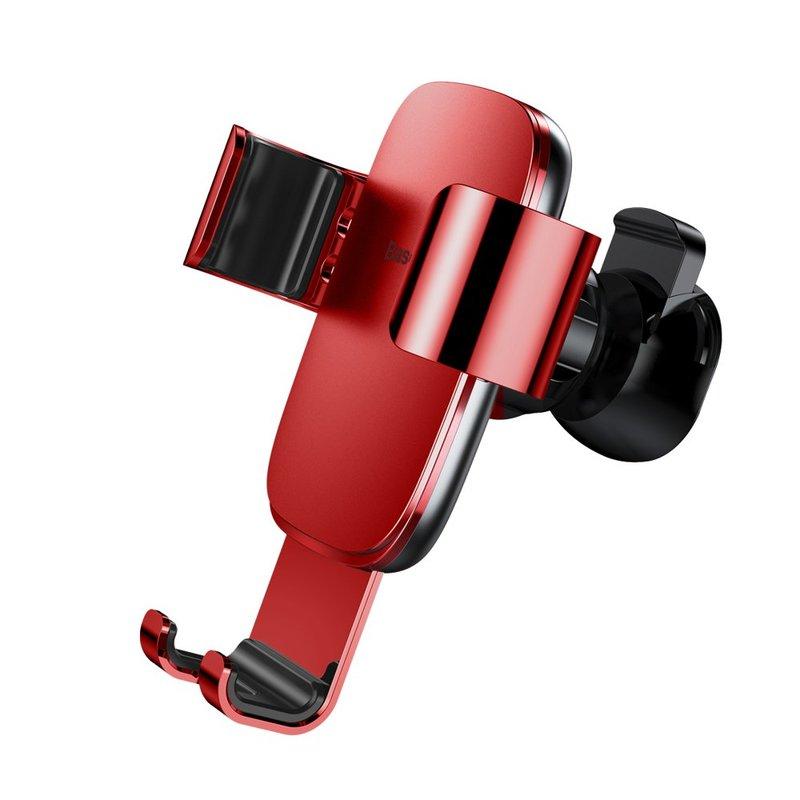 Suport Auto Telefon Baseus Metal Age Gravity Air Vent - SUYL-D09 - Rosu