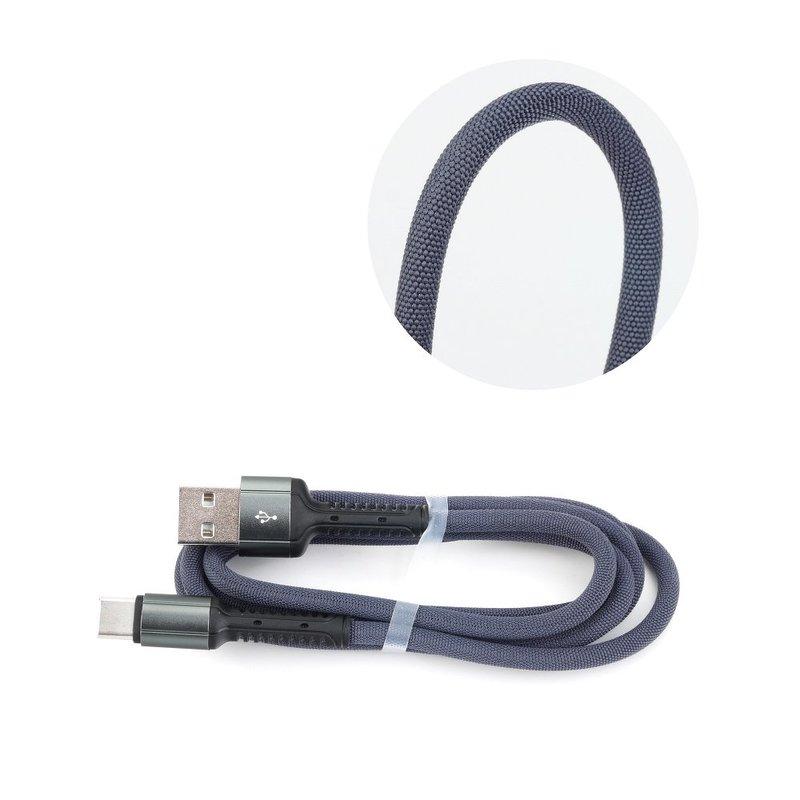 Cablu de date Type-C LDNIO LS63 100CM 2.4A - Negru