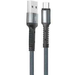 Cablu de date Micro-USB LDNIO LS63 100CM 2.4A - Negru