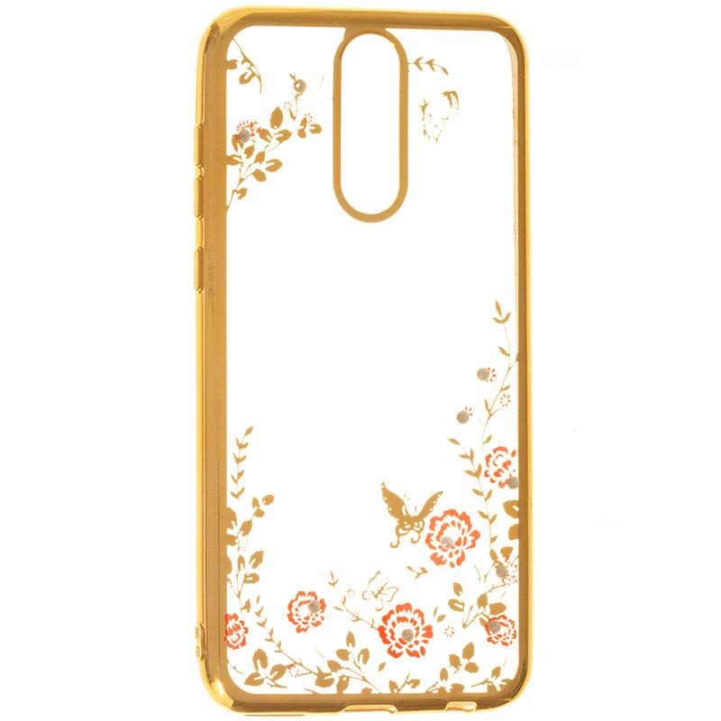 Husa Huawei Mate 10 Lite Diamond Cover - Gold