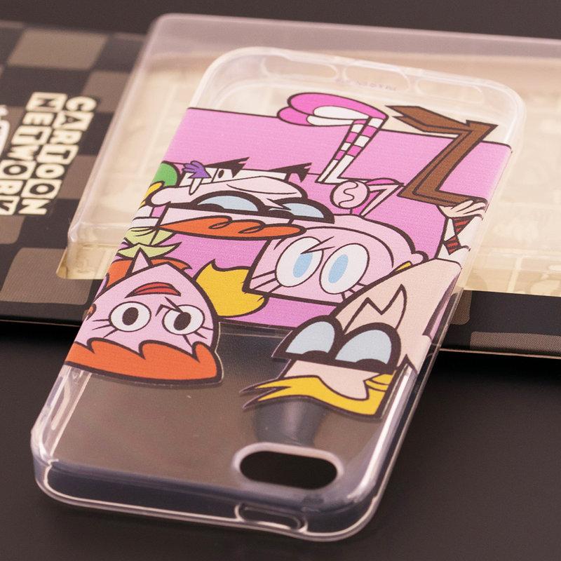 Husa iPhone 5 / 5s / SE Cu Licenta Cartoon Network - Dexter Family